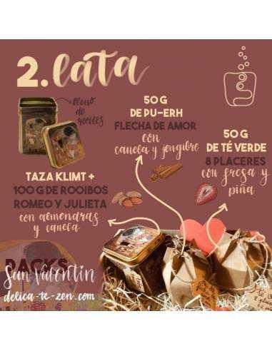 Regalar té - San Valentín Pack 2