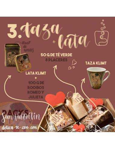 Regalar té - San Valentín Pack 3