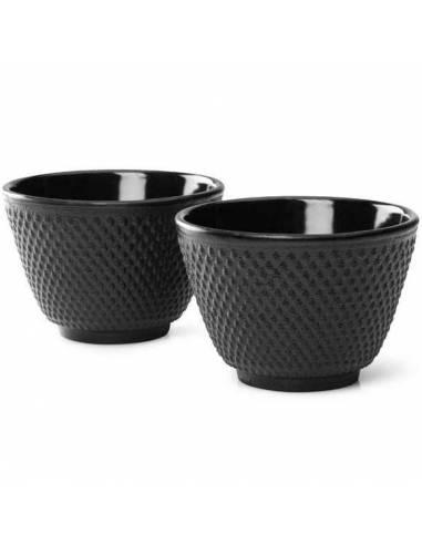 Juego tazas Japonesas hierro fundido