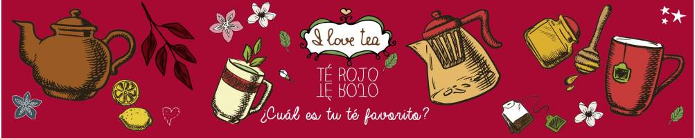 Comprar té rojo a granel online desde 2,8€ en tea shop