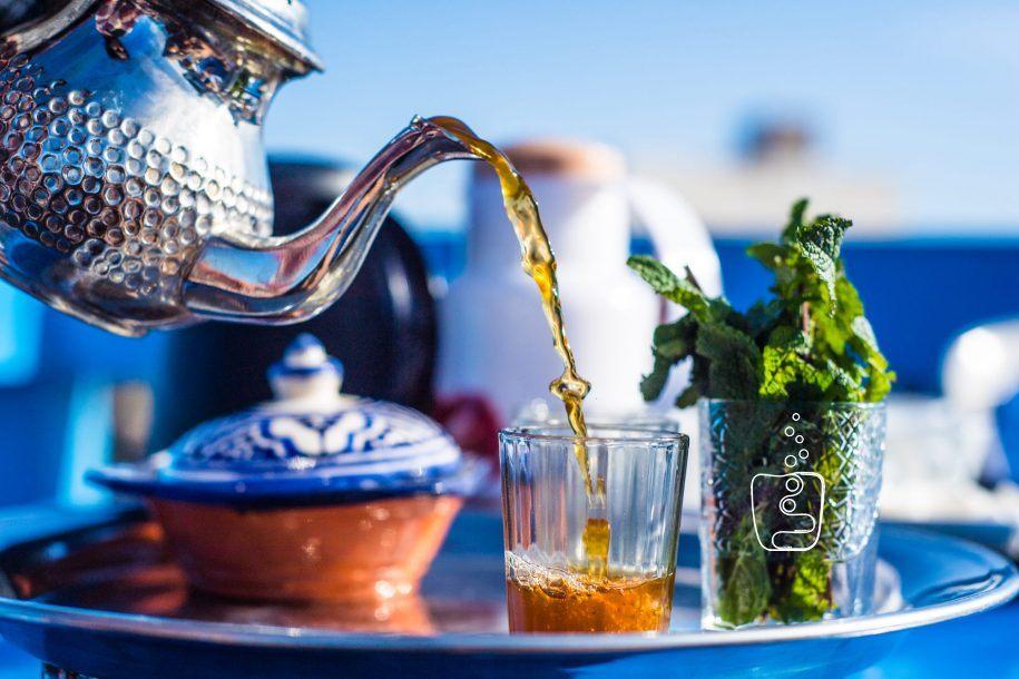 ¿Cómo se toma el té marroquí?